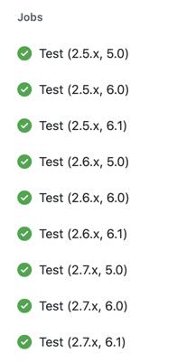 9 tests